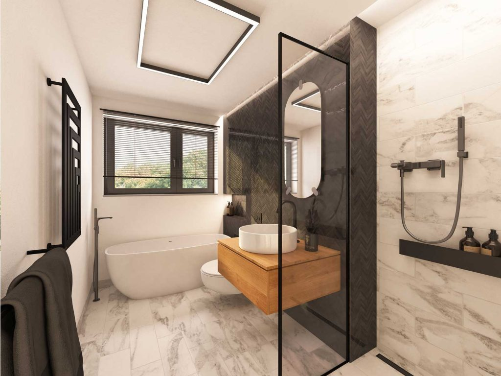 lp-wohnbau innen Badezimmer