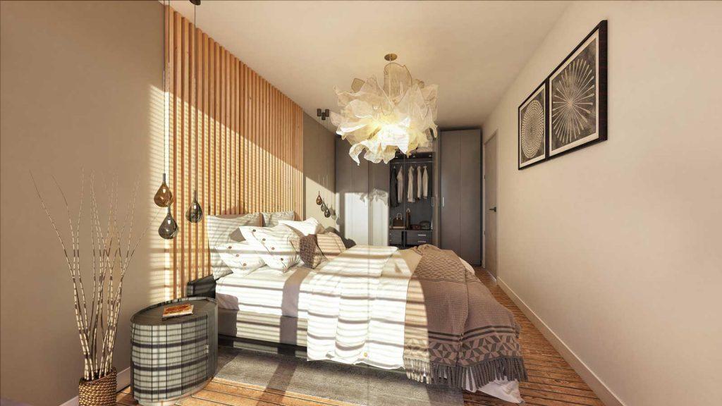lp-wohnbau innen Schlafzimmer